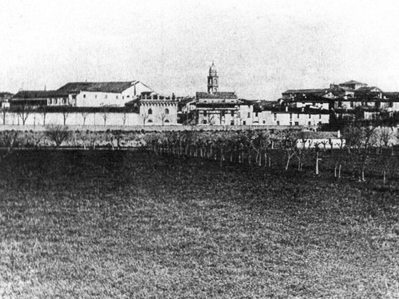 Veduta da fuori le mura. 1900/20
