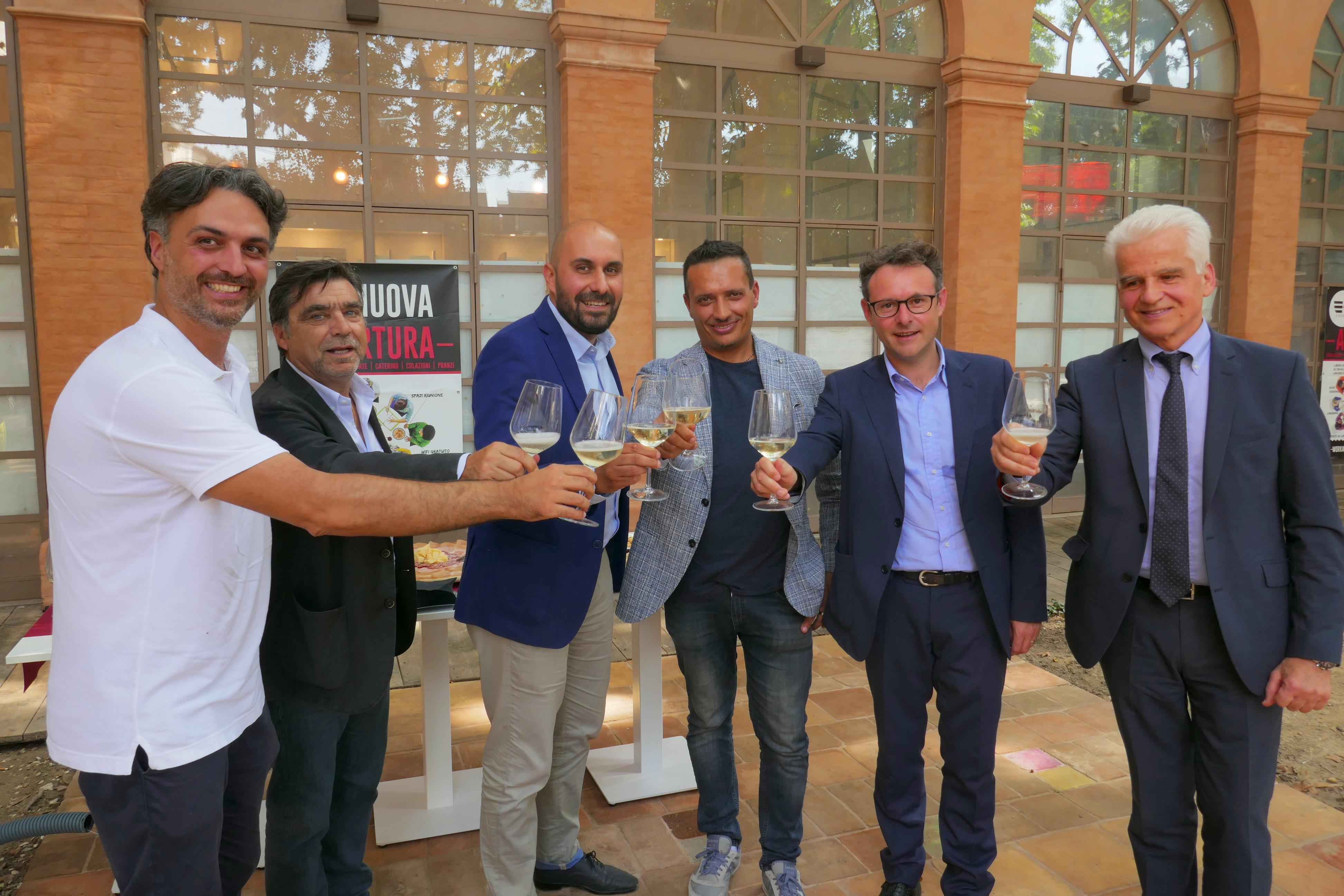 Un momento della conferenza stampa, Faenza, 11 settembre 2018 (3)