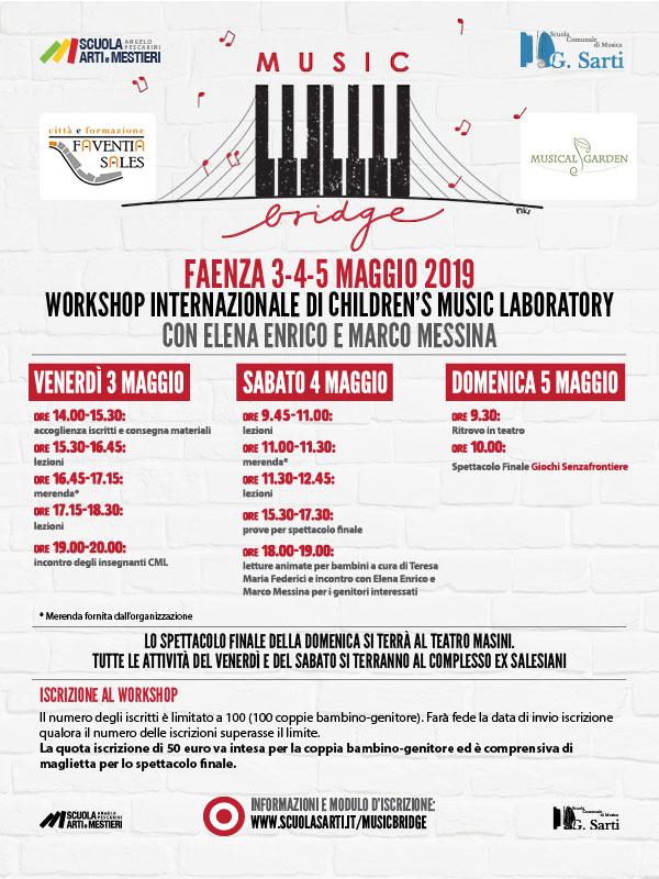 Music Bridge – Workshop internazionale di Musica!