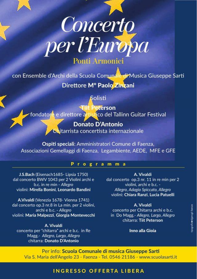 Concerto per l'Europa – Ponti Armonici