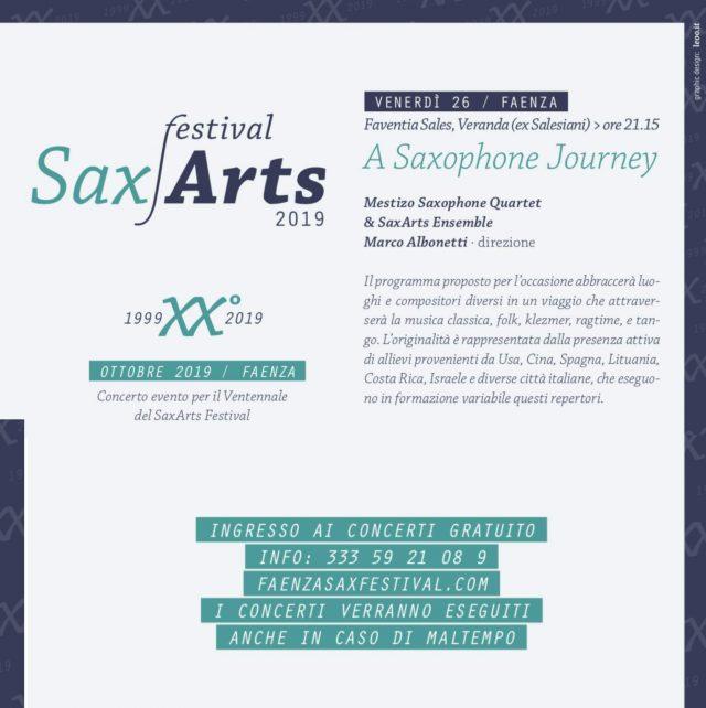 Sax Arts Festival 2019