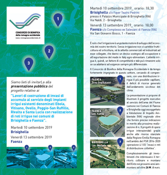 Presentazione Consorzio Bonifica Romagna Occidentale