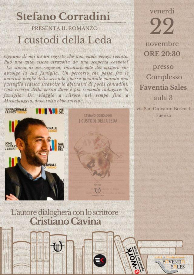 22 novembre: Stefano Corradini e Cristiano Cavina