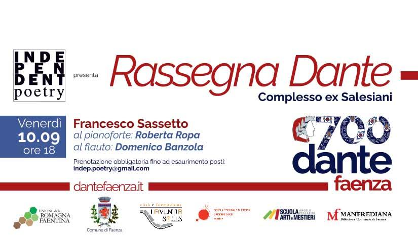 Rassegna Dante 10.09.21